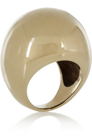 By Malene Birger Lil gold-plated ring