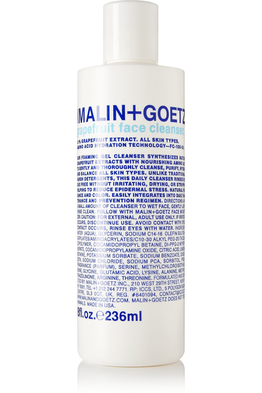Grapefruit Face Cleanser, 236ml, by Malin + Goetz