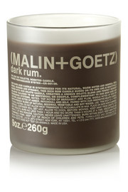 Malin + Goetz Dark Rum scented candle