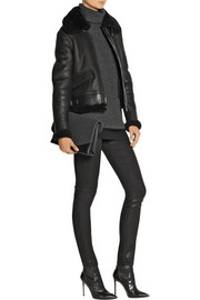 Belstaff Tilda shearling-lined leather jacket