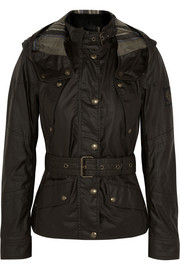 Belstaff Trackmaster hooded waxed-cotton jacket