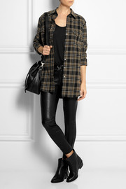Belstaff Olivia plaid cotton-blend shirt