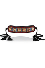 Etro Embellished leather belt