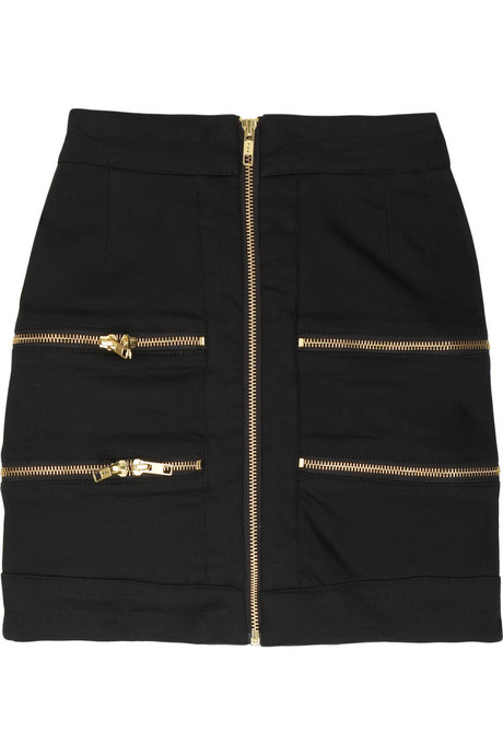 Preen Line | Stretch cotton zipped skirt | NET-A-PORTER.COM from net-a-porter.com