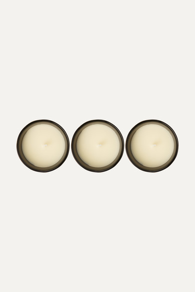 cire trudon odeurs royales set of three scented candles 3 x 100g net a porter com. Black Bedroom Furniture Sets. Home Design Ideas