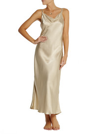 Donna Karan Sleepwear Glamour silk-satin nightdress