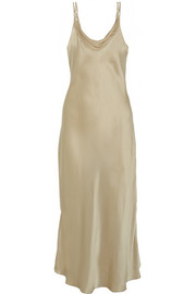 Glamour silk-satin nightdress