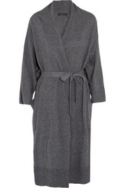 Wool and cashmere-blend robe