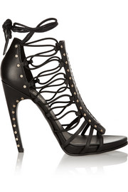 Emilio Pucci Woven leather sandals
