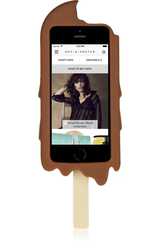 Moschino Chocolate Ice Cream silicone iPhone 5 case