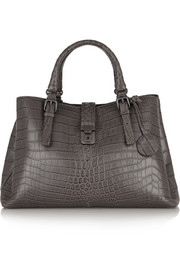Bottega Veneta Roma medium crocodile tote