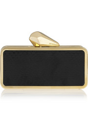 Kotur #getsmartbag elaphe and gold-tone smartphone clutch