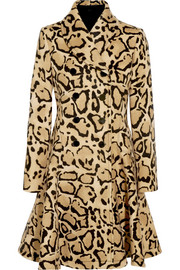 Gucci Leopard-print wool coat