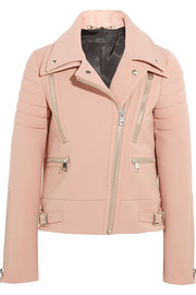 Gucci Wool-crepe biker jacket