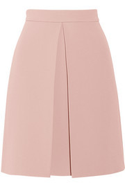 Gucci Pleated crepe skirt
