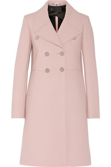 237f06a3d722f Gucci. Neoprene-bonded wool coat