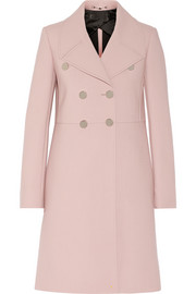 Gucci Neoprene-bonded wool coat