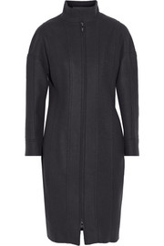 Fendi Paneled wool and cashmere-blend coat