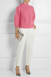 Fendi Mohair, wool, silk and cashmere-blend sweater
