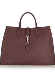 Jackie Soft medium textured-leather tote