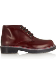 McQ Alexander McQueen Leather ankle boots