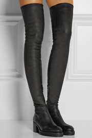 Acne Studios Hiloh stretch-leather over-the-knee boots