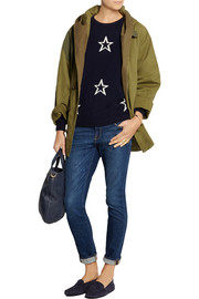 Chinti and Parker Star-intarsia wool sweater
