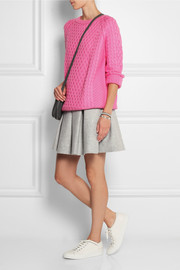 Chinti and Parker Cable-knit merino wool sweater