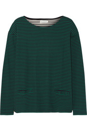 Chinti and Parker Breton striped organic cotton top
