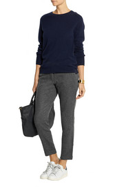 Chinti and Parker Wool and cashmere-blend tapered pants