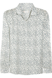 Chinti and Parker Sketchy Star printed cotton shirt