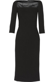 Dolce & Gabbana Stretch-wool midi dress
