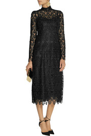 Dolce & Gabbana Lace and tulle midi dress