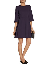 Dolce & Gabbana Stretch-wool crepe mini dress