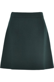 Dolce & Gabbana Stretch-wool crepe mini skirt