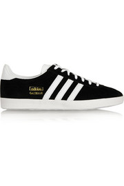 Gazelle OG suede and leather sneakers