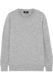 A.P.C. Atelier de Production et de Création Blair wool and cashmere-blend sweater