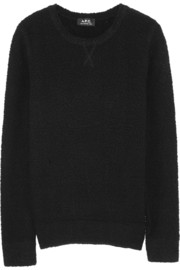 A.P.C. Atelier de Production et de Création Yoko wool-blend terry sweater