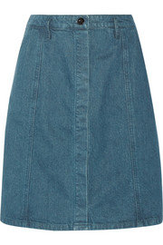 A.P.C. Atelier de Production et de Création Abby denim skirt