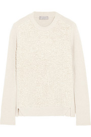 Mulberry Wool, cashmere and silk-blend sweater