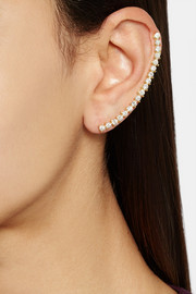 Ana Khouri Isabel 18-karat gold diamond ear cuff