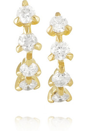 Ana Khouri Isabel 18-karat gold diamond earrings