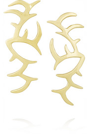 Ana Khouri Arachnid 18-karat gold earrings