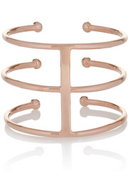 Jennifer Fisher Triple Ball rose gold-plated cuff