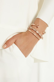 Jennifer Fisher Double Nail rose gold-plated cuff