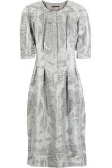 Burberry ProrsumSilk-blend jacquard dress