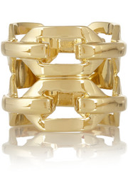 Jennifer Fisher Gold-plated ring