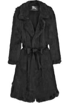 Burberry ProrsumRabbit trench coat