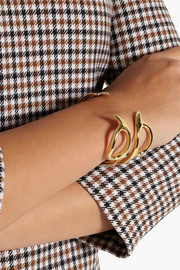Jennifer Fisher Scissor gold-plated cuff