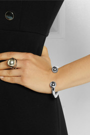Jennifer Fisher Double Ball silver-plated cuff